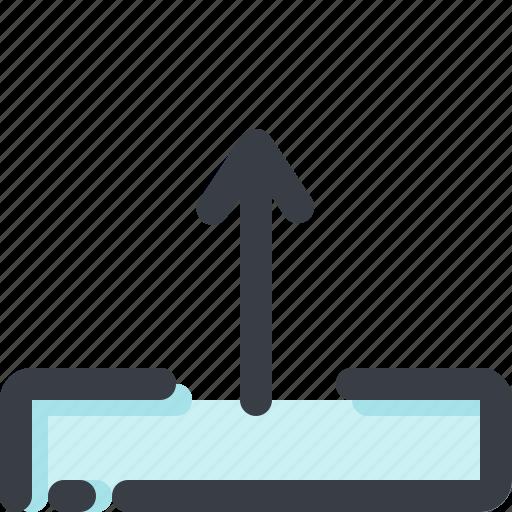 arrow, cloud, database, server, storage, up, upload icon