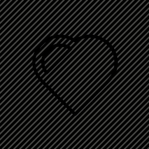 bookmark, favorite, favourite, heart, like, love, romantic icon