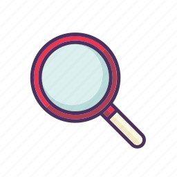 explore, find, magnify, magnifying, search, view, zoom icon