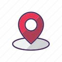 geo, gps, location, map, navigation, pin, tag icon