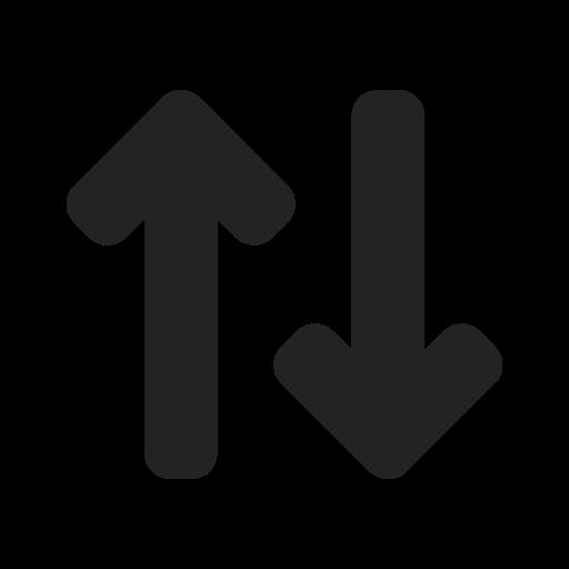 arrow, arrows, data transfer, input, output, transfer icon