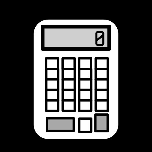 business, calculate, calculation, calculator, math, school, study icon