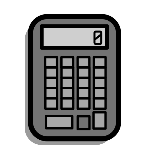 calculate, calculation, calculator, math, numbers, school, study icon