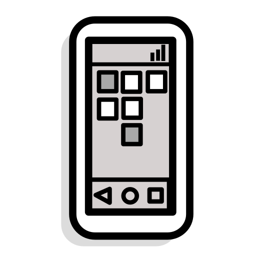 computer, device, iphone, phone, smartphone, talk, technology icon