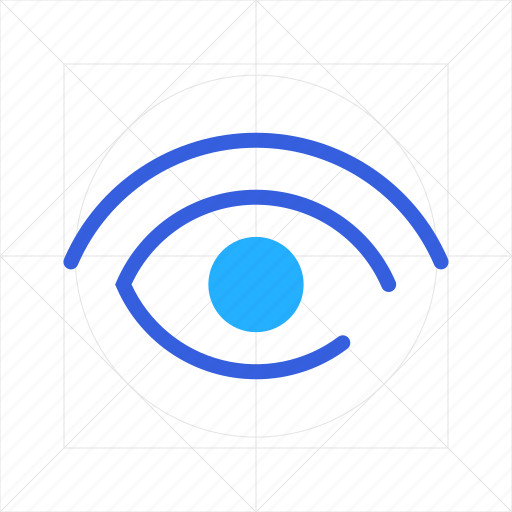 eye, protection, safety, secure, security, shield, view icon
