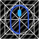 click, computer, cursor, device, mouse, pc, pointer icon