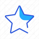bookmark, favorite, like, star, winner icon