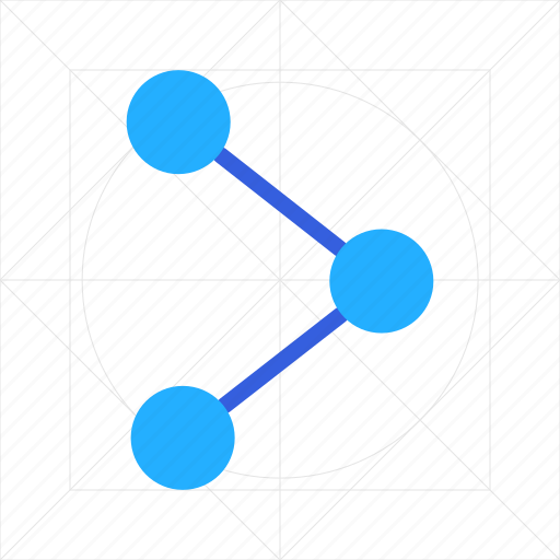 chart, connection, data, graph, link, network, share icon