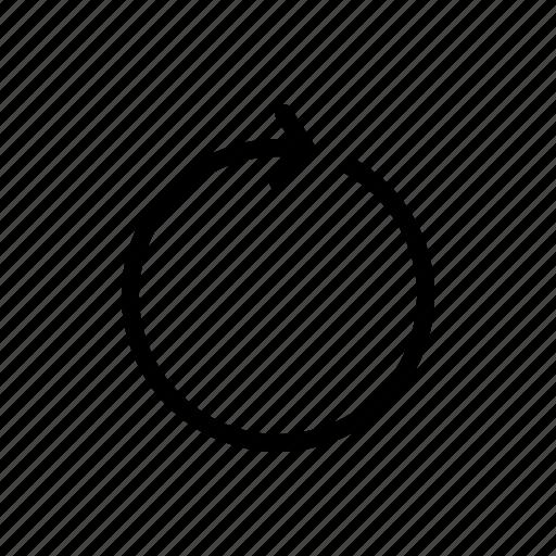 reload, replay, restart icon