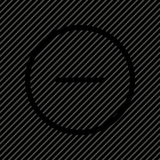 Delete, minus, remove icon - Download on Iconfinder
