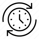 clock, time, time management, timer, watch icon