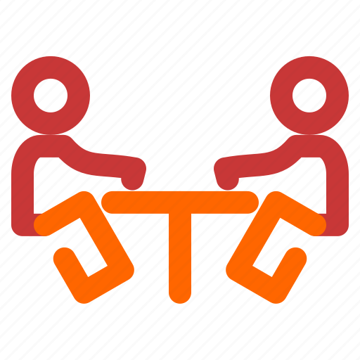 Business, discution, person, two icon - Download on Iconfinder