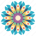 decoration, floral, flower, mandala, nature, ornament