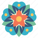decoration, floral, flower, ornament, mandala