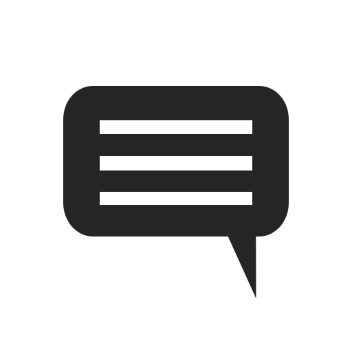 comment, communicate, message, notification, text icon