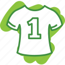 clothing, dress, first, one, player, shirt, sport, t-shirt icon