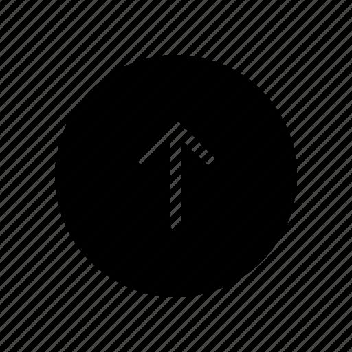 arrow, circle, copy, direction, up icon
