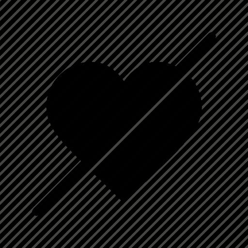 block, favourite, favourites, heart, like icon
