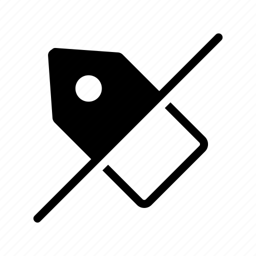 block, label, sale, tablet, tag icon