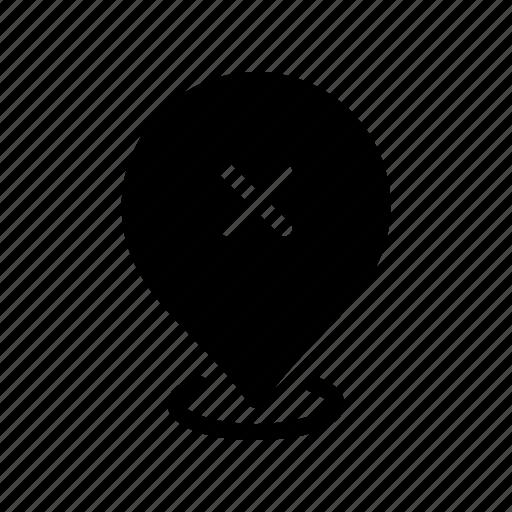 cancel, copy, gps, location, map, pin icon