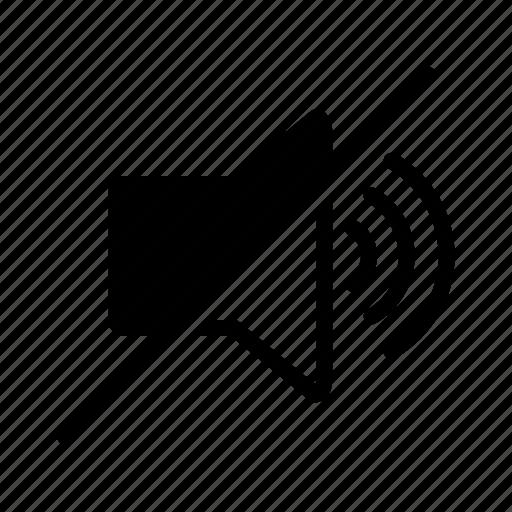 audio, block, sound, volume, volumeoff icon