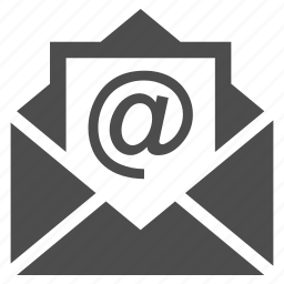 document, email, envelope, mail, message, news, send letter icon
