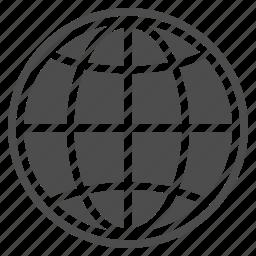 earth, globe, map, navigation, seo, travel, world icon