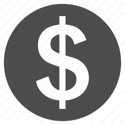 bank, cash, currency, dollar coin, finance, money, payment icon