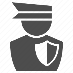 army, fireman, military, police man, security, shield, soldier icon