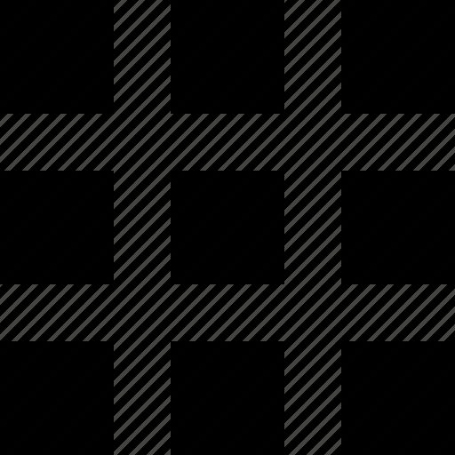 grid, interface icon
