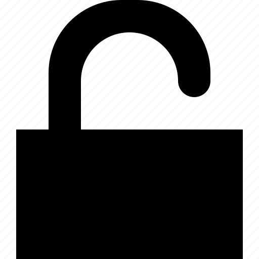 lock, open, protect, safe, safety, secure, unlock icon