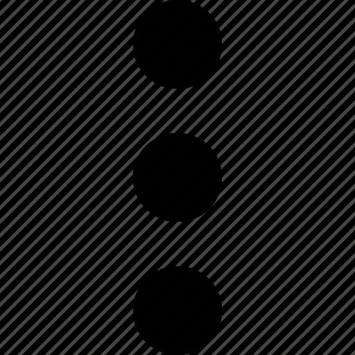 detail, more icon