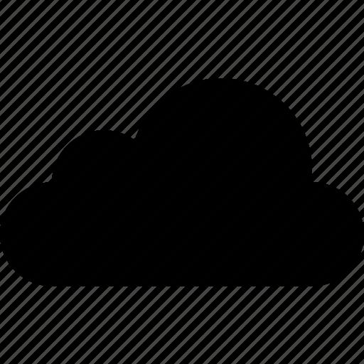 cloud, data, forecast, internet, upload, weather, web icon