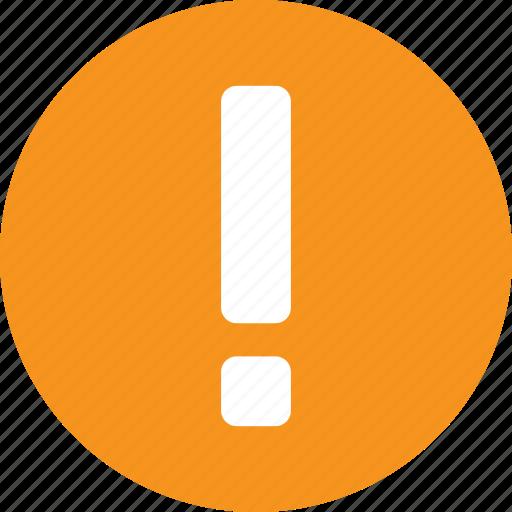 alert, amber, help, info, information, orange icon