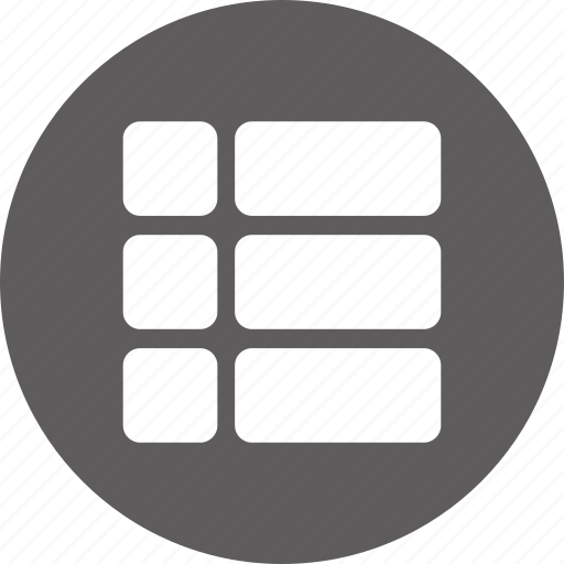 blocks, list, main, menu, navigation icon