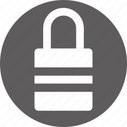 defence, defense, padlock, private, protected, secure icon