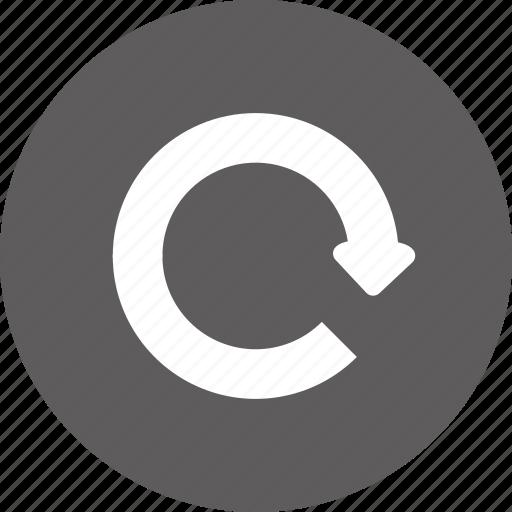 forward, redo, refresh, return icon