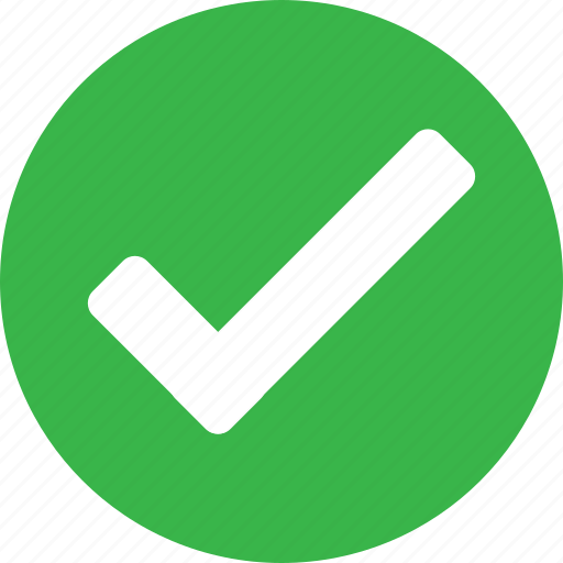Web, right, submit, green, tick, navigation, correct icon - Download on Iconfinder