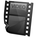 clip, my video, video icon
