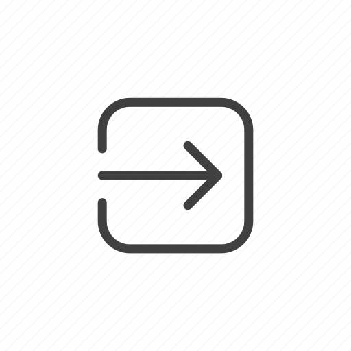 arrow, expand, export, open, open in icon