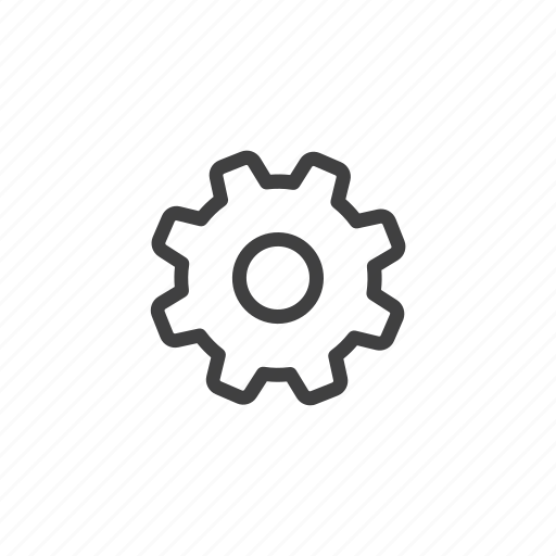 cog, control, gear, options, preferences, settings icon