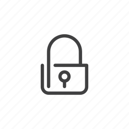lock, locked, password, protect, protected, safe, secure icon