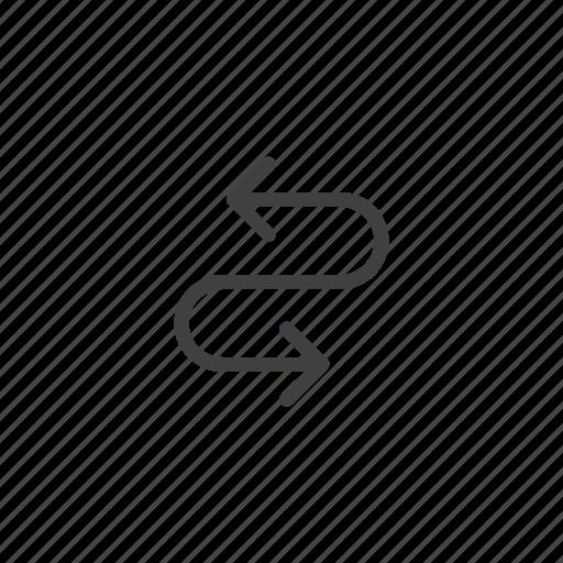 arrow, arrows, change, direction, exchange, shuffle, swap icon