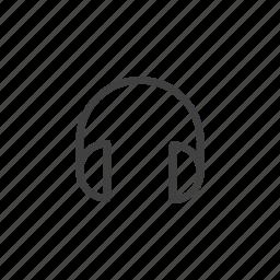 audio, headphones, music, phones, sound icon