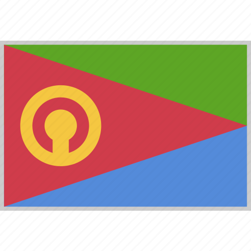 Country, eritrea, flag, nation icon - Download on Iconfinder