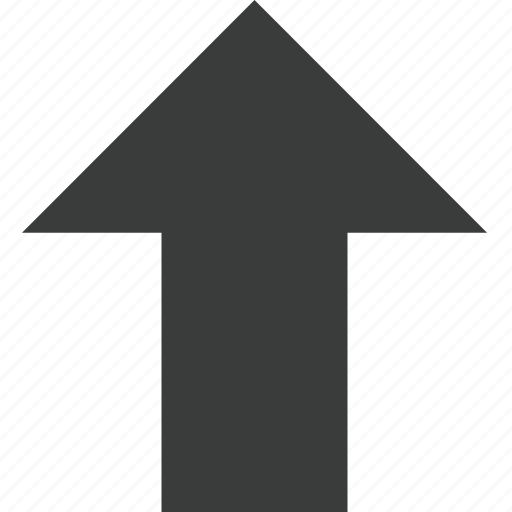 arrow, direction, top, transit, up, upload icon