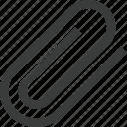 add, attachment, clip, document, file, paper clip icon