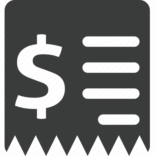 bill, bills, document, finance, financial, money, tax icon