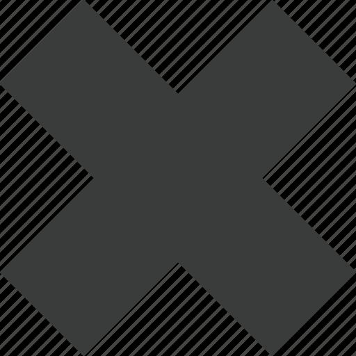 cancel, close, delete, error, invalid, remove, stop icon