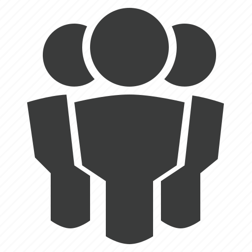 group metting network people public social users icon